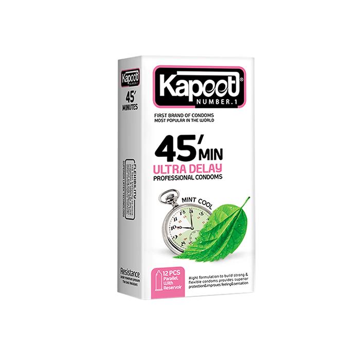 کاندوم تاخیری 45 دقیقهای 12 عددی KAPOOT