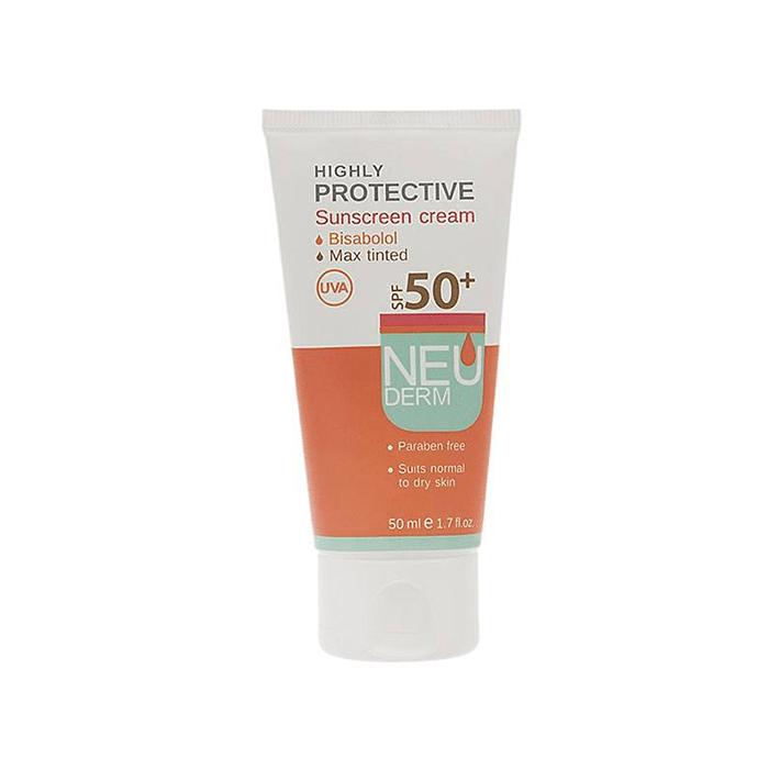 کرم ضد آفتاب هایلی پروتکتیو  50 NEUDERM SPF