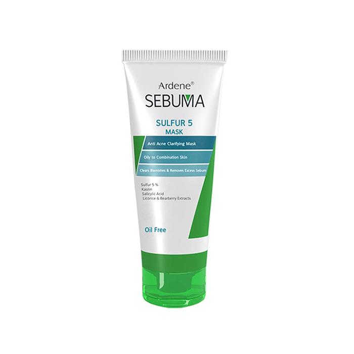 ماسک ضد جوش و پاکسازی کننده پوست چرب Ardene Sebuma
