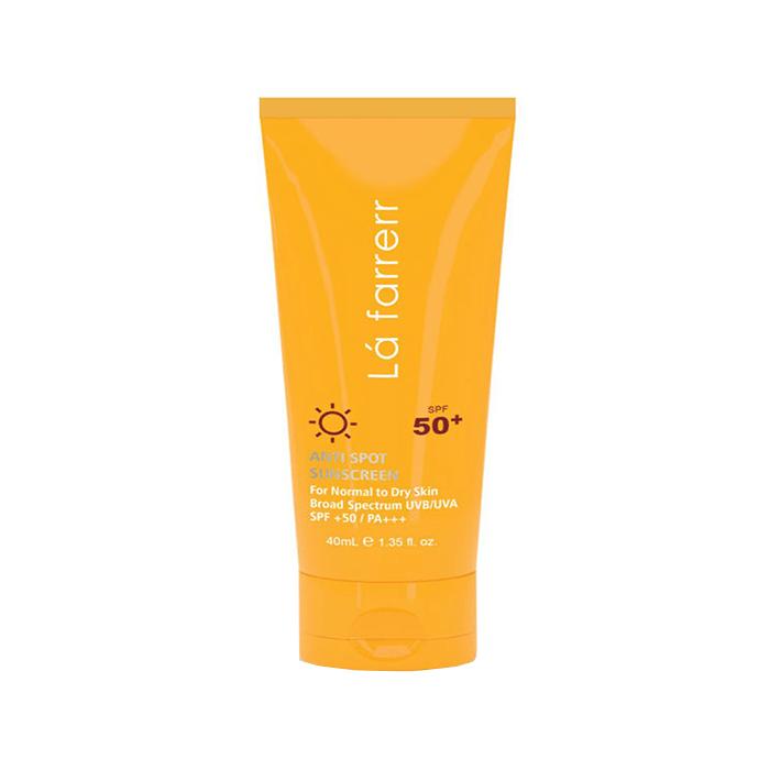 کرم ضد آفتاب و ضد لک پوست خشک و معمولی Lafarrerr SPF50