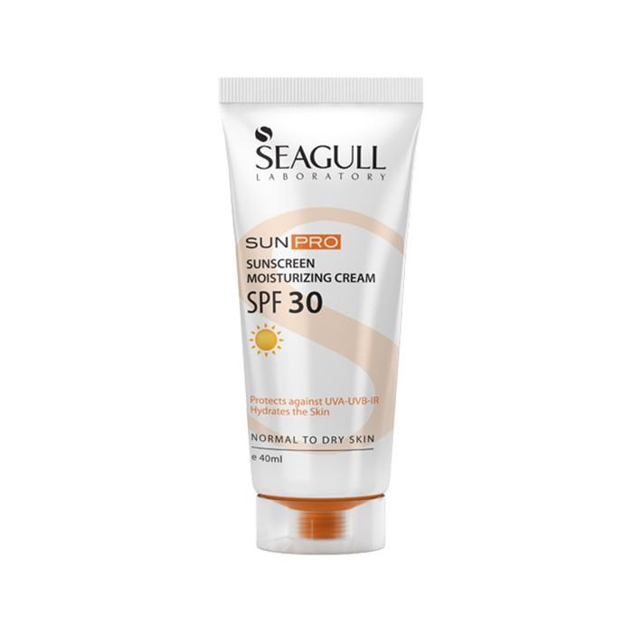 کرم ضد آفتاب مرطوب کننده Seagull SPF 30