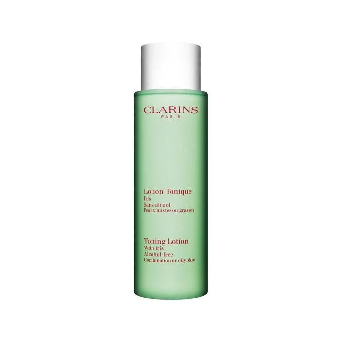 تونر پاک کننده پوست با عصاره زنبق Clarins