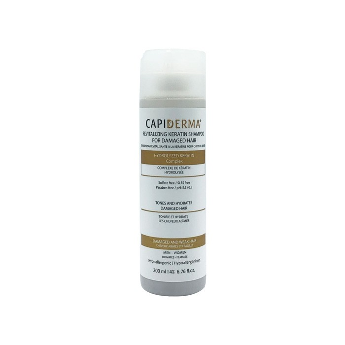 شامپو کراتین هیدرولیز شده Capiderma
