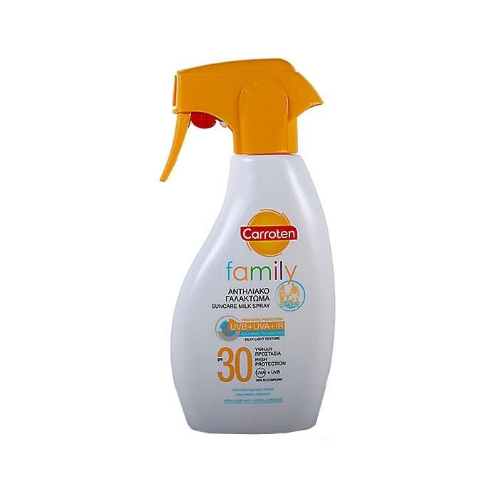 اسپری محافظت از پوست خانوادگی CARROTEN SPF30
