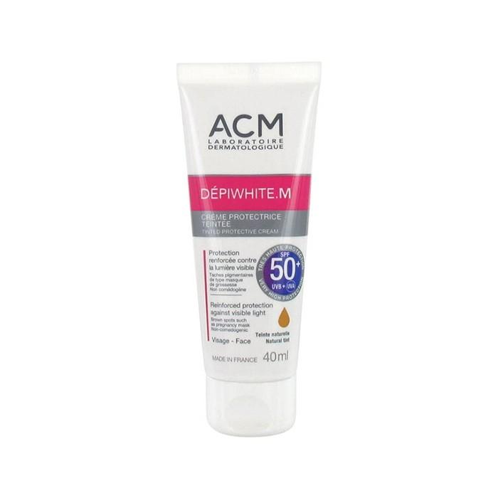 کرم ضد آفتاب رنگی دپی وایت ام ACM SPF 50