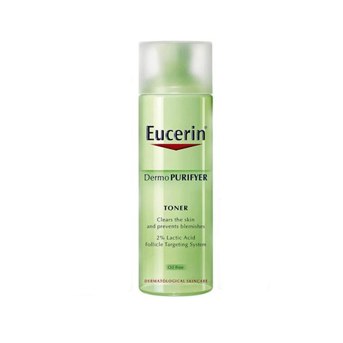 لوسیون پاک کننده (تونر) درمو پیوریفایر Eucerin