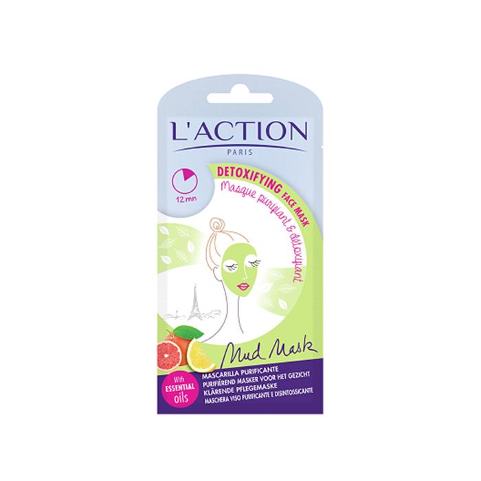 ماسک پاکسازی کننده آلودگی های سطح پوست L'ACTION