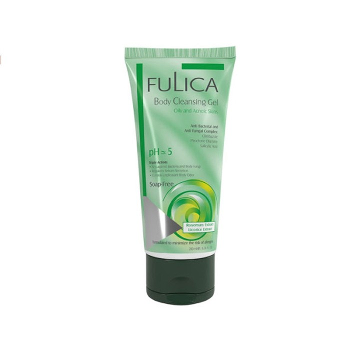 شامپو بدن مناسب پوست چرب Fulica