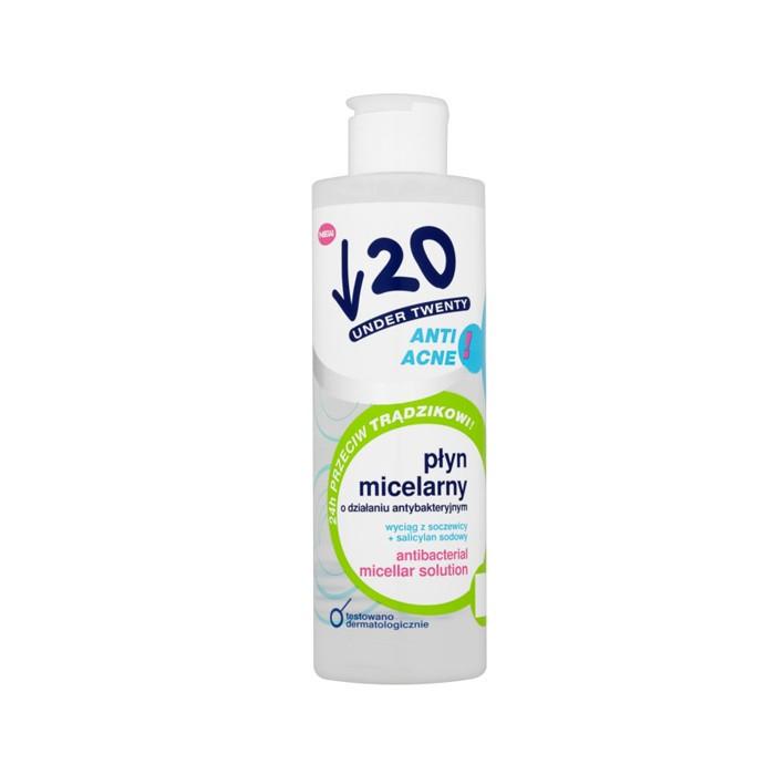 محلول میسلار آنتی باکتریال Under Twenty