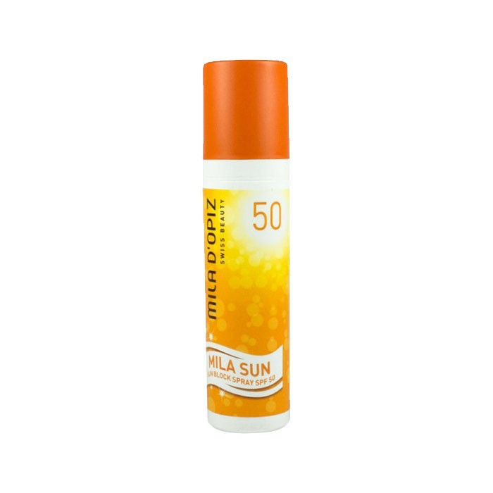 اسپری ضد آفتاب Mila Dopiz SPF 50