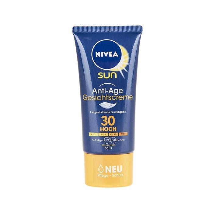 کرم ضد آفتاب ضد چروک Nivea SPF30