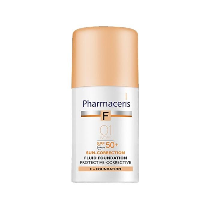 کرم پودر همراه با ضد آفتاب پروتکتیو کارکتیو Pharmaceris