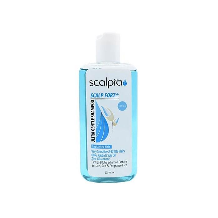 شامپو موهای حساس و شکننده Scalpia
