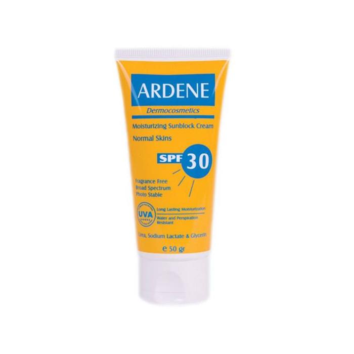 كرم ضد آفتاب مرطوب كننده ARDENE