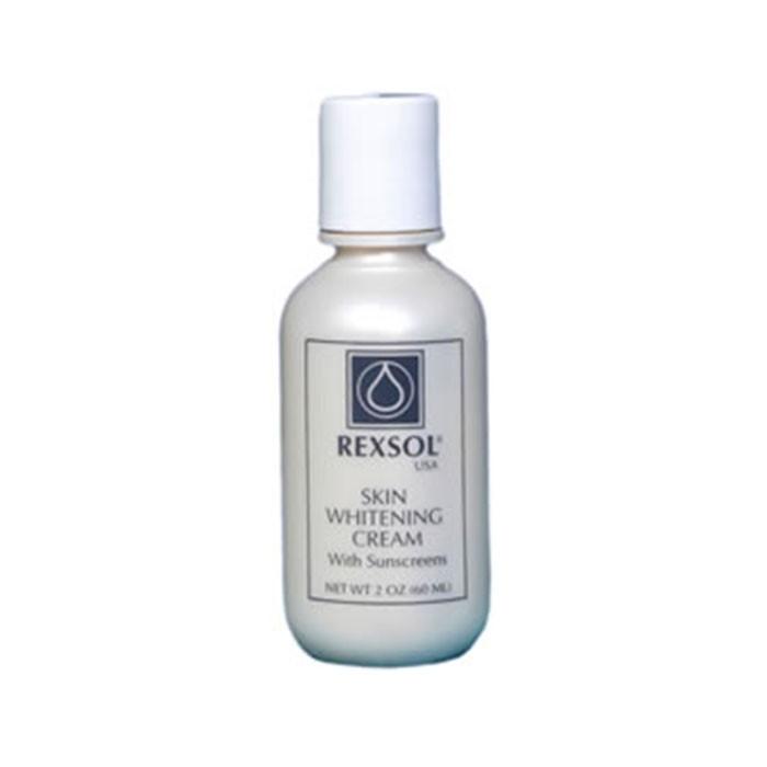 کرم روشن کننده پوست حاوی ضد آفتاب REXSOL