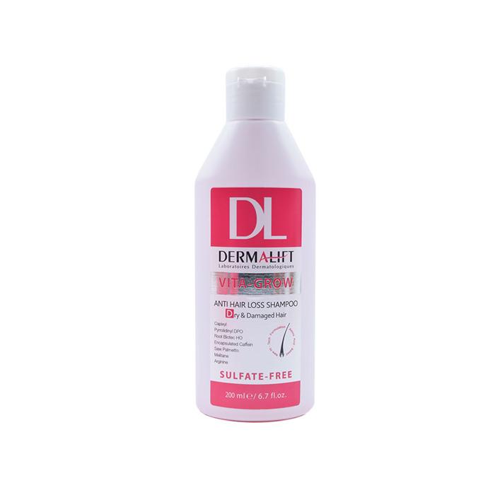 شامپو تقویت کننده موی خشک و آسیب دیده Dermalift