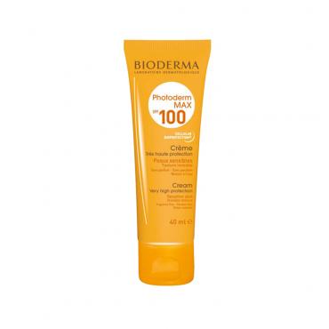 کرم ضد آفتاب بایودرما مناسب پوست نرمال تا خشک مدل Photoderm Max SPF 100