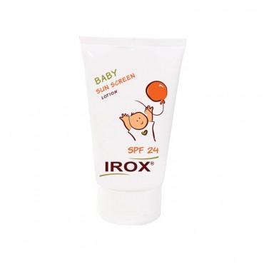 لوسیون ضد آفتاب کودک IROX SPF 24
