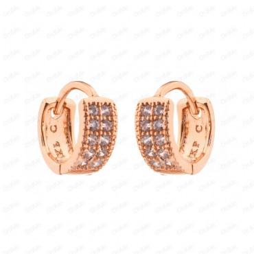 گوشواره حلقه ای طلایی Xuping 2127