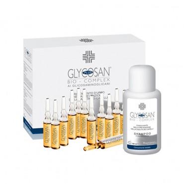 شامپو ضد ریزش و تقویت کننده مو + 12 لوسیون Glycosan