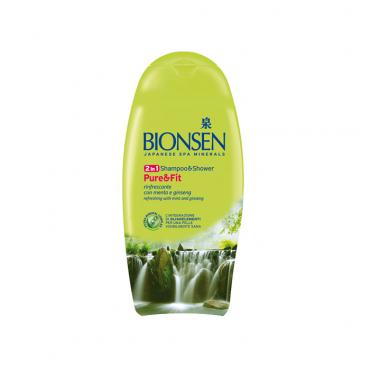 شامپو سر و بدن خنک کننده BIONSEN 250ml