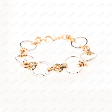دستبند دورنگ Xuping 1627