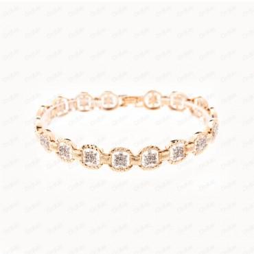 دستبند دورنگ Xuping 0902