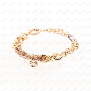 دستبند دورنگ Xuping 1772