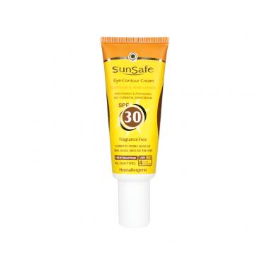 کرم دور چشم حاوی ضد آفتاب با SunSafe SPF30