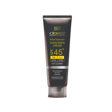 کرم ضد آفتاب آقایان cinere SPF 45