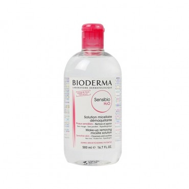 محلول پاک کننده آرایش و آلودگی میسلار سن سی بیو BIODERMA 500ml H2O