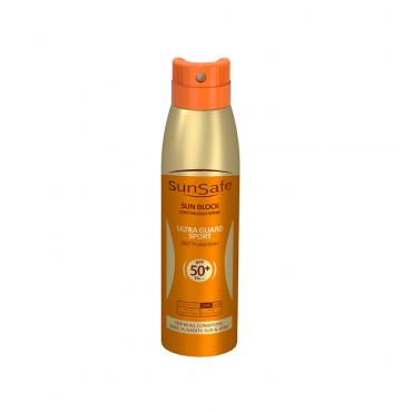 اسپری ضد آفتاب با SPF50 مناسب بزرگسالان SunSafe
