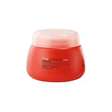 ماسک موهای رنگ شده یا دکلره شده Ice Cream Inebrya