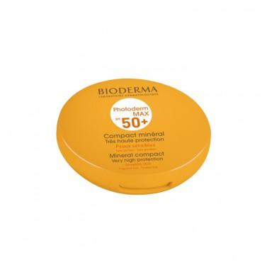 ضد آفتاب بایودرما مناسب پوست حساس به فیلترهای شیمیایی مدل +Photoderm Max Mineral Compact SPF 50  (تاریخ نزدیک)