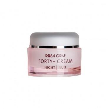 کرم فورتی پلاس شب ROSA GRAF