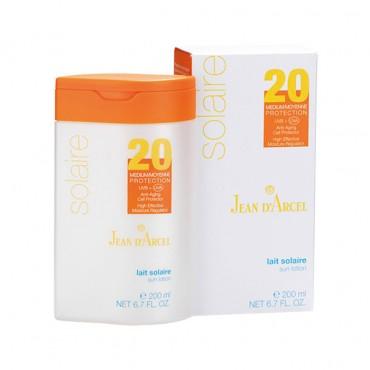 کرم ژل ضد آفتاب با JEAN D'ARCEL SPF 20