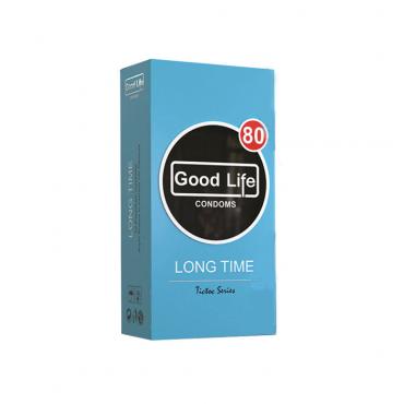 کاندوم تاخیری شیاردار سری تیک و تاک (کد 80) Good Life