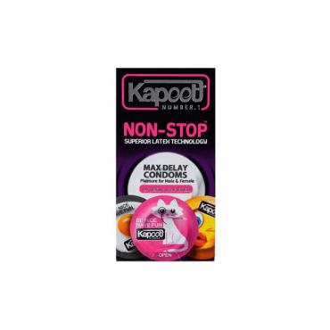 کاندوم تاخیری مدل نان استاپ 10 عددی KAPOOT