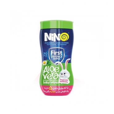 دستمال مرطوب کمر باریک پاک کننده کودک فاقد اسانس Nino