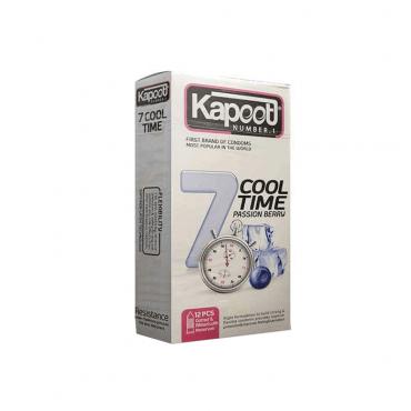کاندوم تاخیری کول تايم يک ساعته 7 کاره سرد KAPOOT