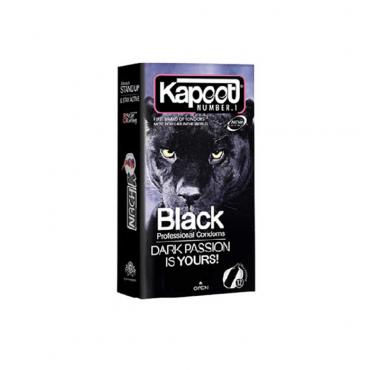 کاندوم مشکی 12 عددی KAPOOT