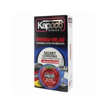 کاندوم تاخیری انرژی زا  12 عددی KAPOOT