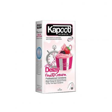 کاندوم تاخيری فروتی 12 عددی KAPOOT