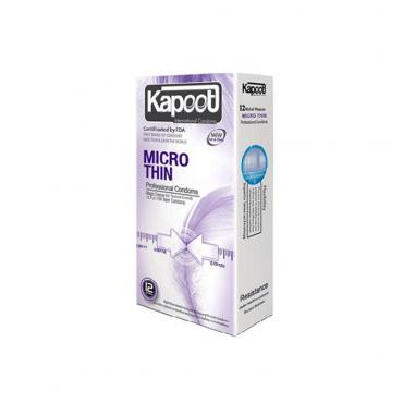 کاندوم میکروتین 12 عددی KAPOOT