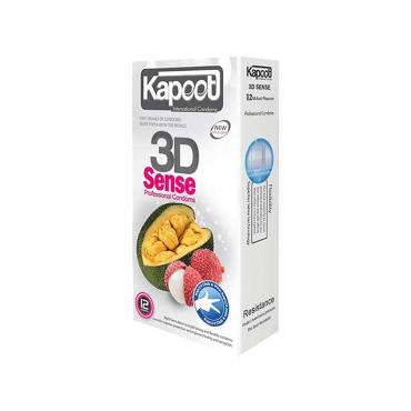 کاندوم احساس سه بعدی 12 عددی KAPOOT