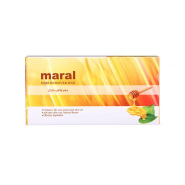 موم وکس عسلی MARAL 500gr