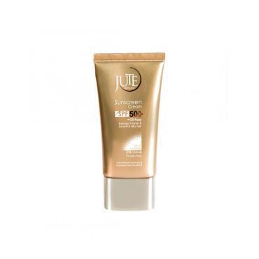 کرم ضد آفتاب مناسب پوست چرب JUTE SPF 50