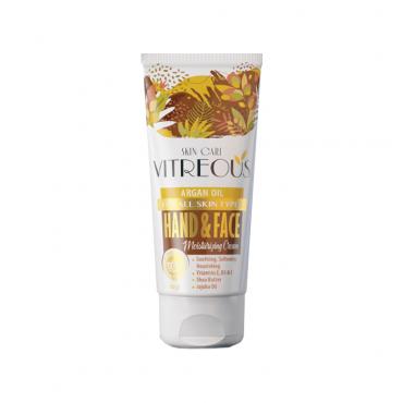 كرم مرطوب کننده روغن آرگان مناسب انواع پوست Vitreous 50ml