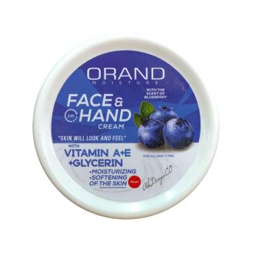 کرم مرطوب کننده حاوی ویتامین آ و ای Orand 200ml