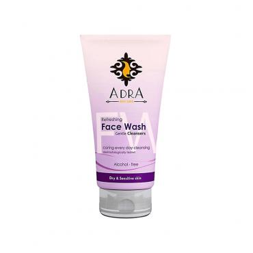 ژل شستشوی صورت مناسب پوست خشک و حساس Adra